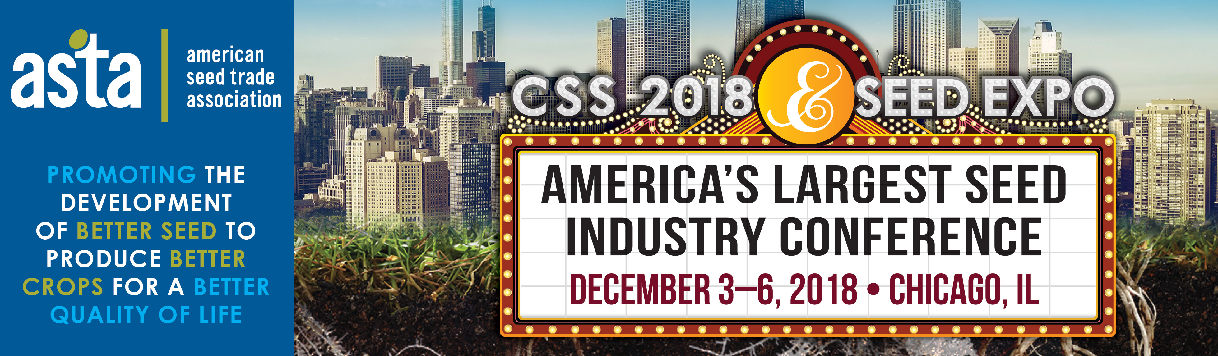 "CSS 2018 & Seed Expo Features the ""The Majors after the"