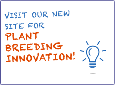 New site on plant breeding http://seedinginnovation.org/